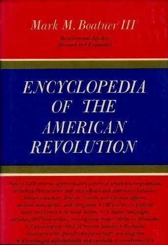 9780679504405: Encyclopedia of the American Revolution