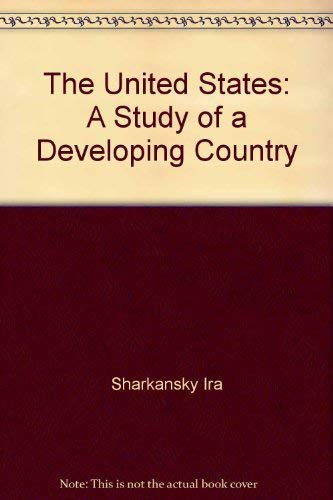 9780679505631: The United States: A study of a developing country