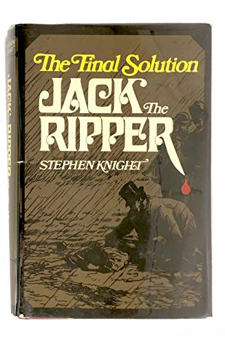 9780679507116: Jack the Ripper: The Final Solution