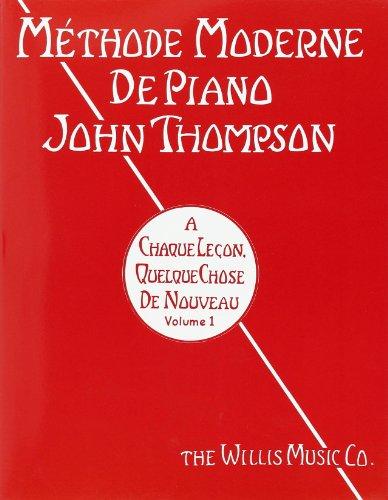 9780679508618: Méthode moderne de piano Volume 1
