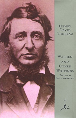 Walden and Other Writings (Modern Library): Thoreau, Henry David