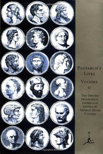 9780679600091: Lives of the Noble Grecians and Romans: v. 2 (Modern Library)