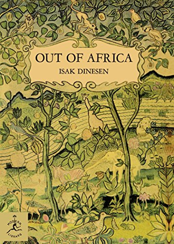 9780679600213: Out of Africa (Modern Library 100 Best Nonfiction Books)