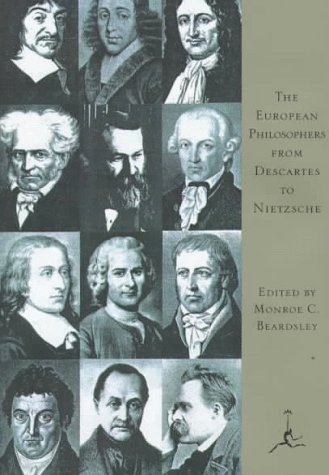 9780679600244: The European Philosophers from Descartes to Nietzsche (Modern Library of the World's Best Books)
