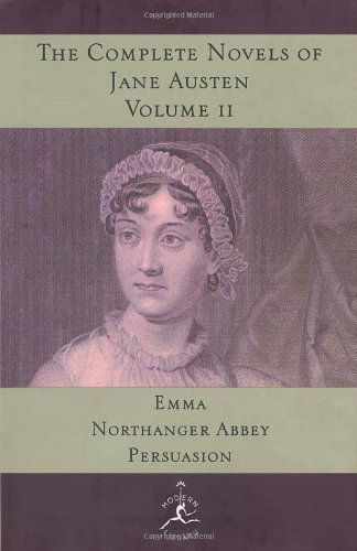 9780679600251: The Complete Novels of Jane Austen, Vol. 2 (Emma / Northanger Abbey / Persuasion)
