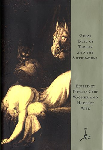 9780679601289: Great Tales of Terror and the Supernatural (Modern Library)