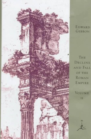 9780679601494: 002: The Decline and Fall of the Roman Empire, Volume II (Modern Library)