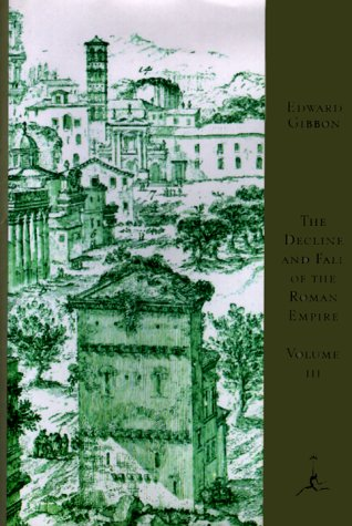 9780679601500: Decline and Fall of the Roman Empire: v. 3 (Modern Library)
