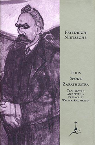 9780679601753: Modlib-Thus Spoke Zarathustra (Modern Library)