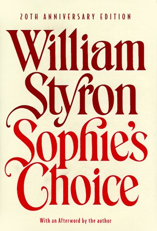 9780679640295: Sophie's Choice (Modern Library)