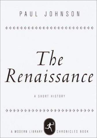9780679640868: The Renaissance: A Short History (Modern Library Chronicles)