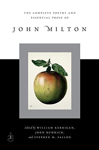 Complete Poetry and Essential Prose of John Milton (Hardback): John Milton