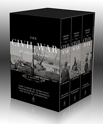9780679643708: The Civil War Trilogy Box Set: With American Homer: Reflections on Shelby Foote and His Classic The Civil War: A Narrative