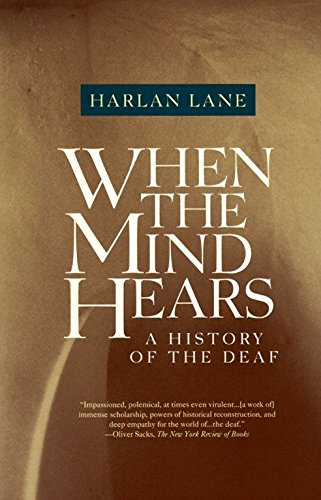 9780679720232: When the Mind Hears: A History of the Deaf (Vintage books)