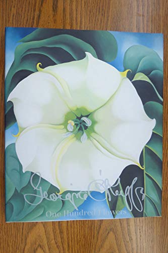 GEORGIA O'KEEFFE; ONE HUNDRED FLOWERS. [100 Flowers.]: O'Keeffe, Georgia, 1887-1986.