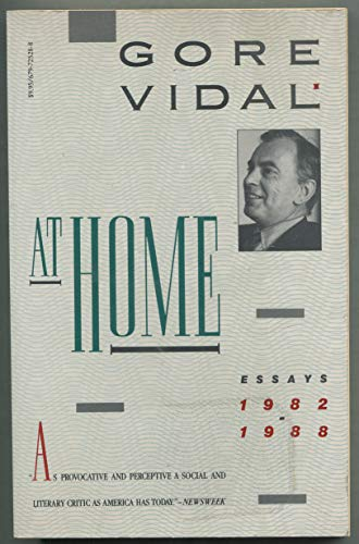 9780679725282: At Home: Essays 1982-1988
