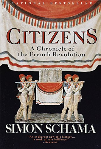 9780679726104: Citizens: A Chronicle of the French Revolution