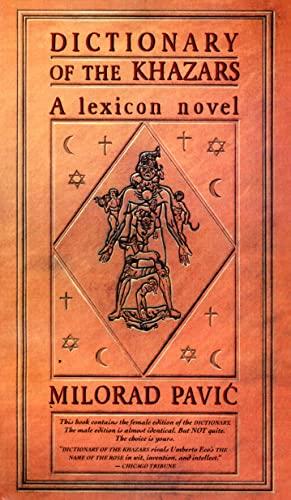 9780679727545: Dictionary of Khazars (Vintage International)