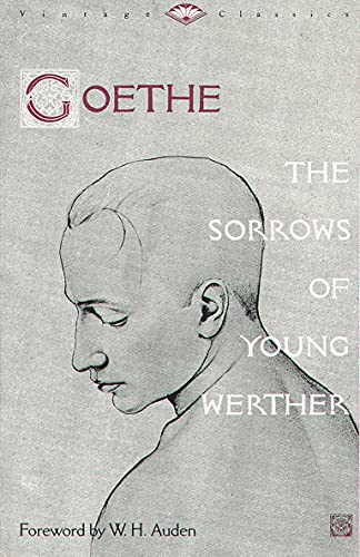 the sorrows of young werther vintage classics