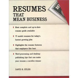 9780679731207: Resumes for Success