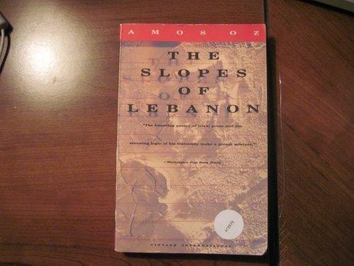 9780679731443: THE SLOPES OF LEBANON