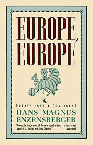 9780679731597: Europe, Europe: Forays into a Continent