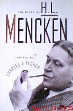 9780679731764: Diary of H. L. Mencken