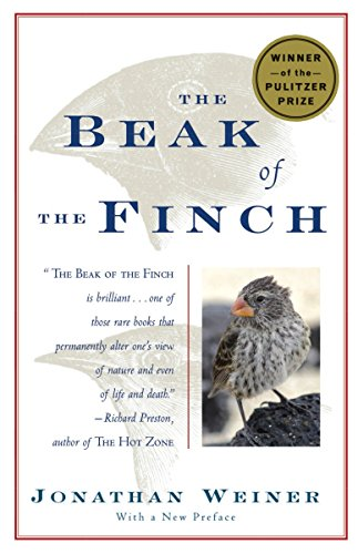BEAK OF THE FINCH : A STORY OF EVOLUTION