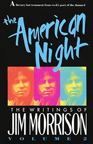 9780679734628: The American Night: The Writings of Jim Morrison, Vol. 2