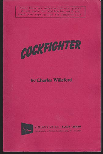 9780679734710: Cockfighter