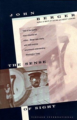 9780679737223: The Sense of Sight (Vintage International)