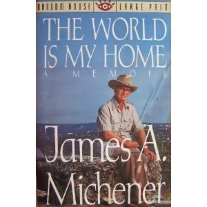 9780679739814: World is My Home (Random House Large Print)
