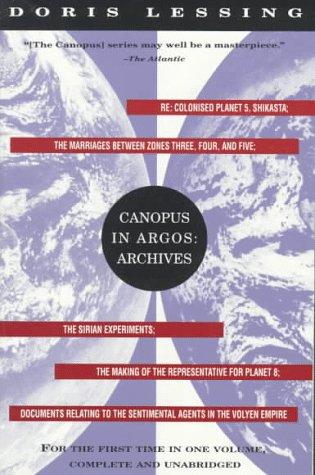 9780679741848: Canopus in Argos: Archives