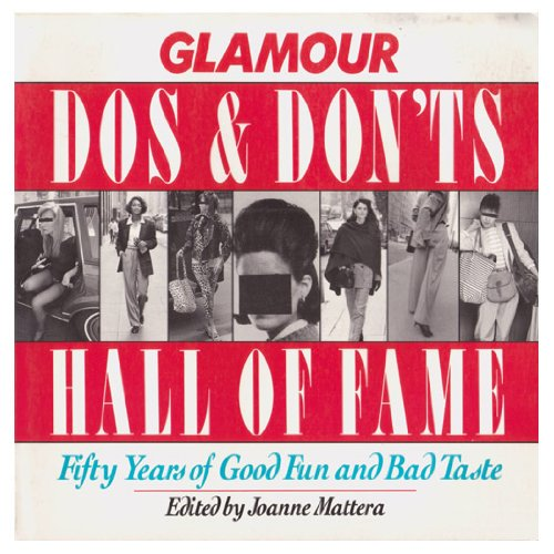 Glamour Do's and Don'ts Hall of Fame: Mattera, Joanne