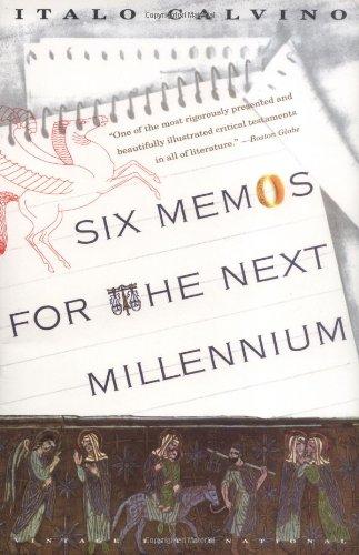 9780679742371: Six Memos for the Next Millennium (The Charles Eliot Norton Lectures, 1985-86)
