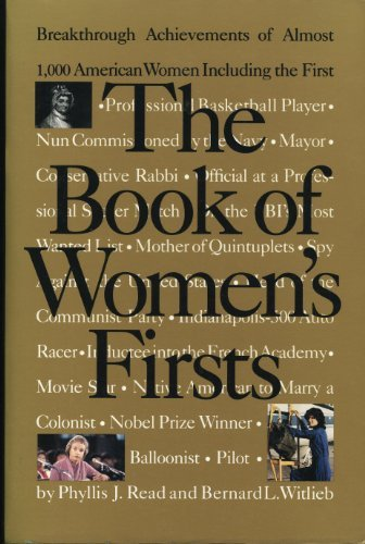 9780679742807: The Book of Women's Firsts: Breakthrough Achievements of Almost 1,000 American Women