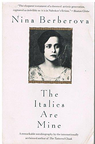 9780679745372: The Italics Are Mine (Vintage International)
