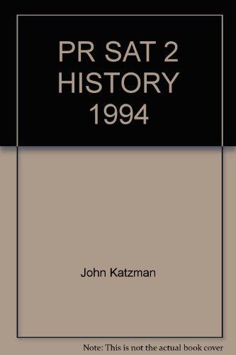 PR Sat 2 History 1994: Katzman, John
