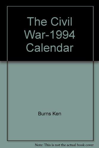 9780679747116: The Civil War Calendar 1994