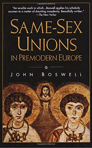 9780679751649: Same-Sex Unions in Premodern Europe