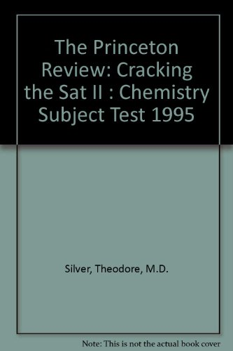 9780679753568: Princeton Review Cracking the SAT II: Chemistry 1995 Edition