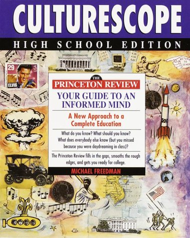 9780679753667: Princeton Review: Culturescope High School Edition: Princeton Review Guide to an Informed Mind