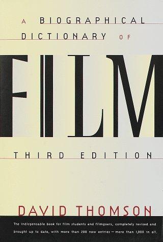 9780679755647: Biographical Dictionary of Film
