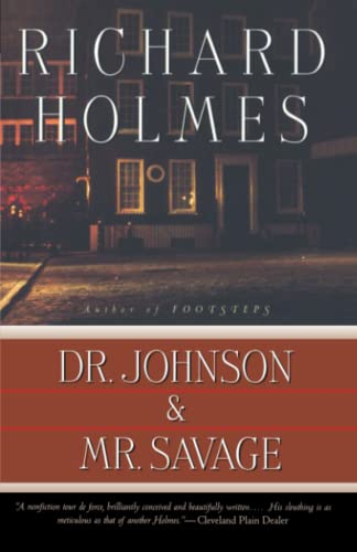 Dr. Johnson & Mr. Savage (0679757708) by Richard Holmes
