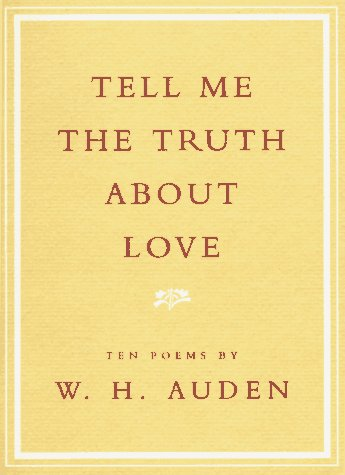 9780679757825: Tell Me the Truth About Love: Ten Poems