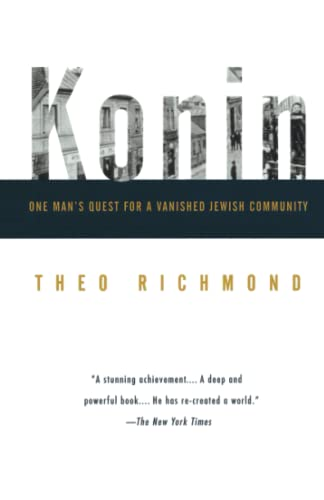 9780679758235: Konin: One Man's Quest for a Vanished Jewish Community