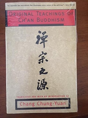 9780679758242: Original Teachings of Cha'an Buddhism: Selected from the Transmission of the Lamp
