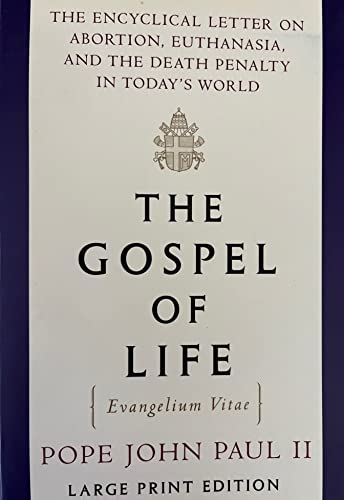 9780679758648: The Gospel of Life (Random House Large Print)