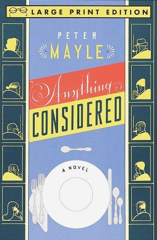 9780679758822: Anything Considered: A Novel (Random House Large Print)