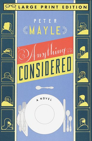 9780679758822: Anything Considered (Random House Large Print)